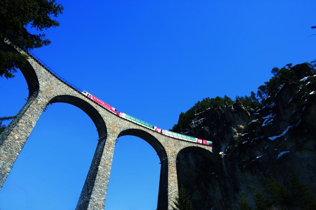 Rhaetische Bahn Albula Bernina_IMAGEBILD