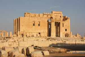 Palmyra, Temple of Bel, from north-west