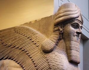 In the British Museum