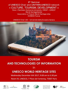 Tourism and Information Technology in UNESCO World Heritage Sites