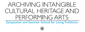 """Prof. Cantoni @ the """"Archiving Intangible Cultural Heritage & Performing Arts"""" Symposium and Summer School in Lausanne (CH)"""