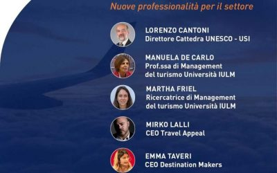 "Live Webinar ""Turismo, quo vadis"" on May 28, 2020"