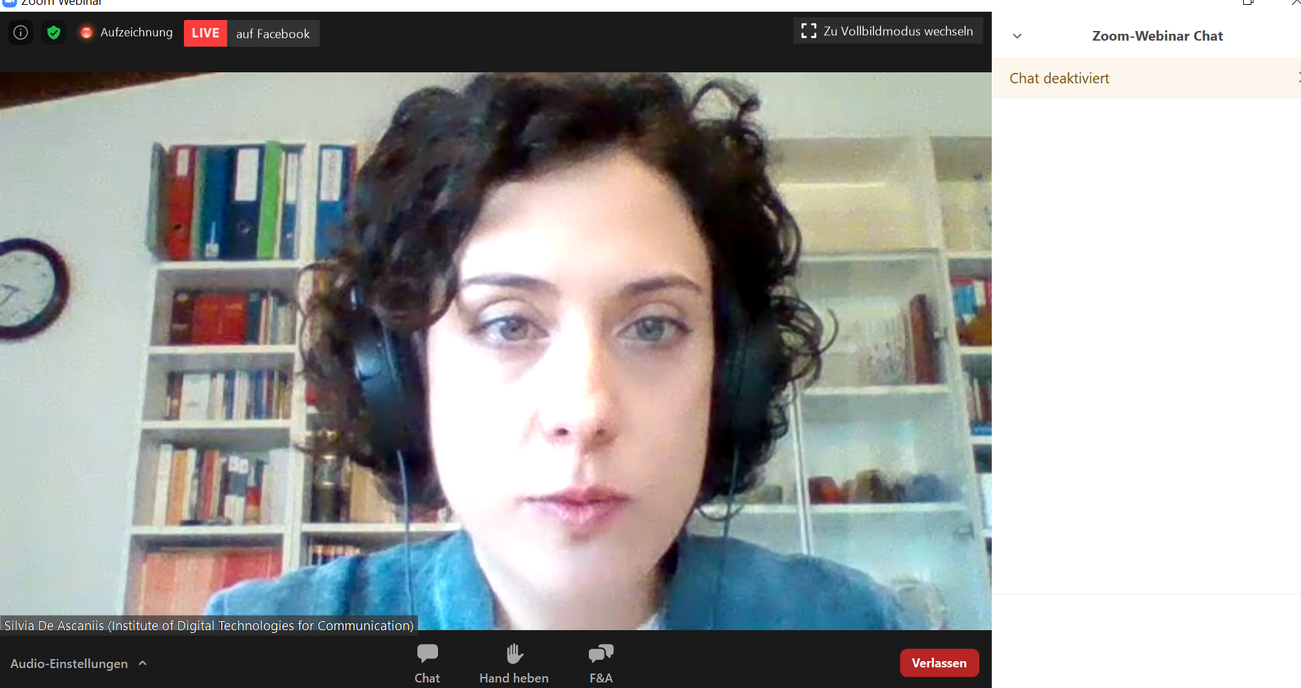 Prof. Cantoni & Dr. Silvia De Ascaniis @ Euromed 2020 (November 2-5, 2020)